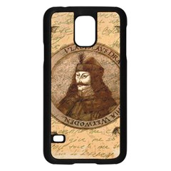 Count Vlad Dracula Samsung Galaxy S5 Case (Black)
