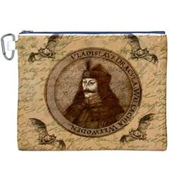 Count Vlad Dracula Canvas Cosmetic Bag (XXXL)