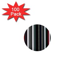 Miracle Mile Pattern 1  Mini Buttons (100 pack)