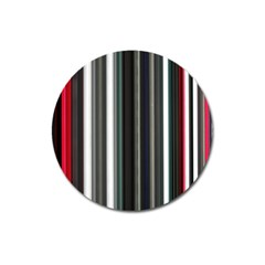 Miracle Mile Pattern Magnet 3  (round)