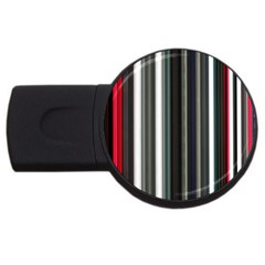 Miracle Mile Pattern USB Flash Drive Round (1 GB)