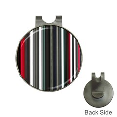 Miracle Mile Pattern Hat Clips With Golf Markers