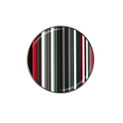 Miracle Mile Pattern Hat Clip Ball Marker (4 Pack)