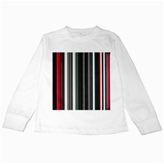 Miracle Mile Pattern Kids Long Sleeve T-Shirts