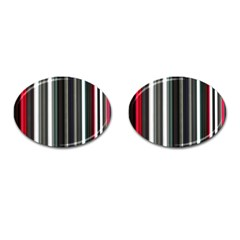 Miracle Mile Pattern Cufflinks (Oval)