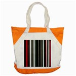 Miracle Mile Pattern Accent Tote Bag Front