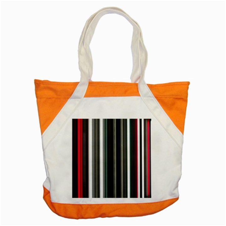 Miracle Mile Pattern Accent Tote Bag