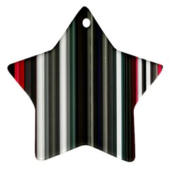 Miracle Mile Pattern Star Ornament (Two Sides)
