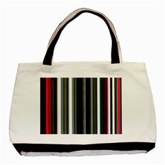 Miracle Mile Pattern Basic Tote Bag (Two Sides)