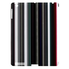 Miracle Mile Pattern Apple iPad 3/4 Hardshell Case (Compatible with Smart Cover)