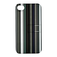 Miracle Mile Pattern Apple iPhone 4/4S Hardshell Case with Stand