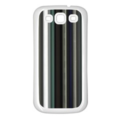 Miracle Mile Pattern Samsung Galaxy S3 Back Case (White)