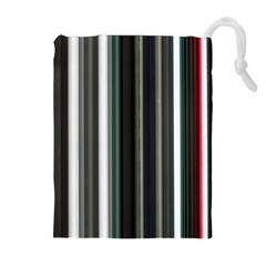 Miracle Mile Pattern Drawstring Pouches (Extra Large)