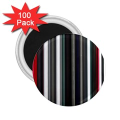 Miracle Mile Pattern 2 25  Magnets (100 Pack)