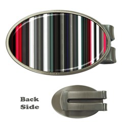 Miracle Mile Pattern Money Clips (Oval)