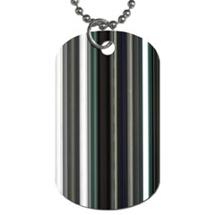 Miracle Mile Pattern Dog Tag (One Side)