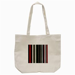 Miracle Mile Pattern Tote Bag (Cream)