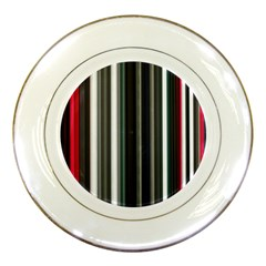 Miracle Mile Pattern Porcelain Plates