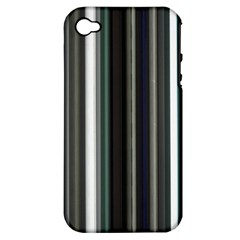Miracle Mile Pattern Apple iPhone 4/4S Hardshell Case (PC+Silicone)
