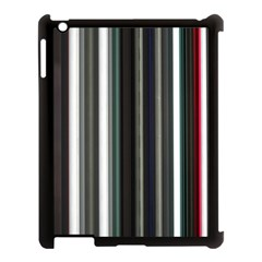 Miracle Mile Pattern Apple iPad 3/4 Case (Black)