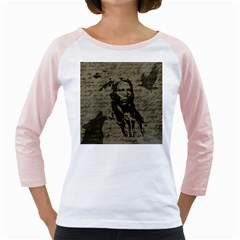 Indian chief Girly Raglans