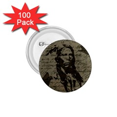 Indian chief 1.75  Buttons (100 pack)