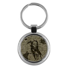 Indian chief Key Chains (Round)