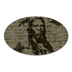 Indian chief Oval Magnet
