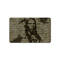Indian chief Magnet (Name Card)