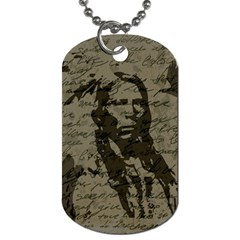 Indian chief Dog Tag (Two Sides)