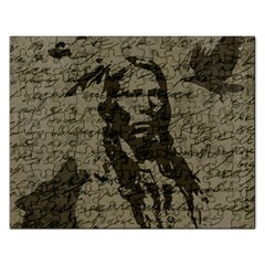 Indian chief Rectangular Jigsaw Puzzl