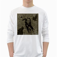 Indian chief White Long Sleeve T-Shirts