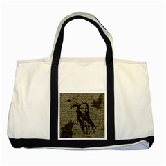 Indian chief Two Tone Tote Bag