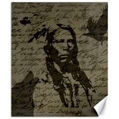 Indian chief Canvas 8  x 10