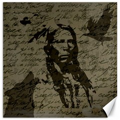 Indian Chief Canvas 16  X 16