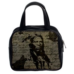 Indian chief Classic Handbags (2 Sides)