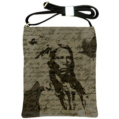 Indian chief Shoulder Sling Bags