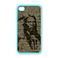 Indian chief Apple iPhone 4 Case (Color)