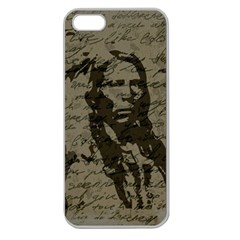 Indian chief Apple Seamless iPhone 5 Case (Clear)