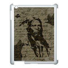 Indian chief Apple iPad 3/4 Case (White)