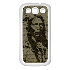 Indian chief Samsung Galaxy S3 Back Case (White)