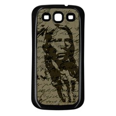 Indian chief Samsung Galaxy S3 Back Case (Black)