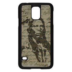 Indian chief Samsung Galaxy S5 Case (Black)