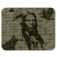 Indian chief Double Sided Flano Blanket (Medium)