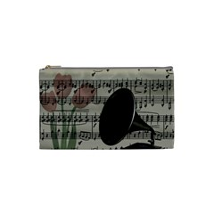 Vintage music design Cosmetic Bag (Small)
