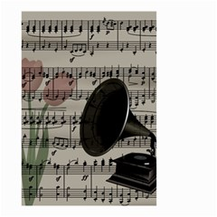 Vintage music design Small Garden Flag (Two Sides)