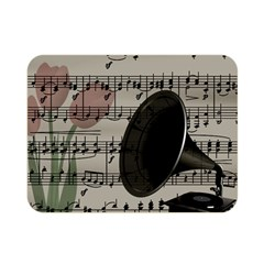 Vintage music design Double Sided Flano Blanket (Mini)