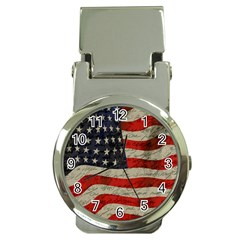 Vintage American flag Money Clip Watches