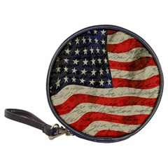 Vintage American flag Classic 20-CD Wallets