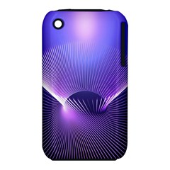 Abstract Fractal 3d Purple Artistic Pattern Line iPhone 3S/3GS